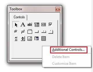 Additional Controls Option