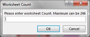 Add New Worksheets