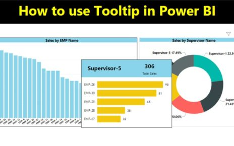 Tooltip in Power BI