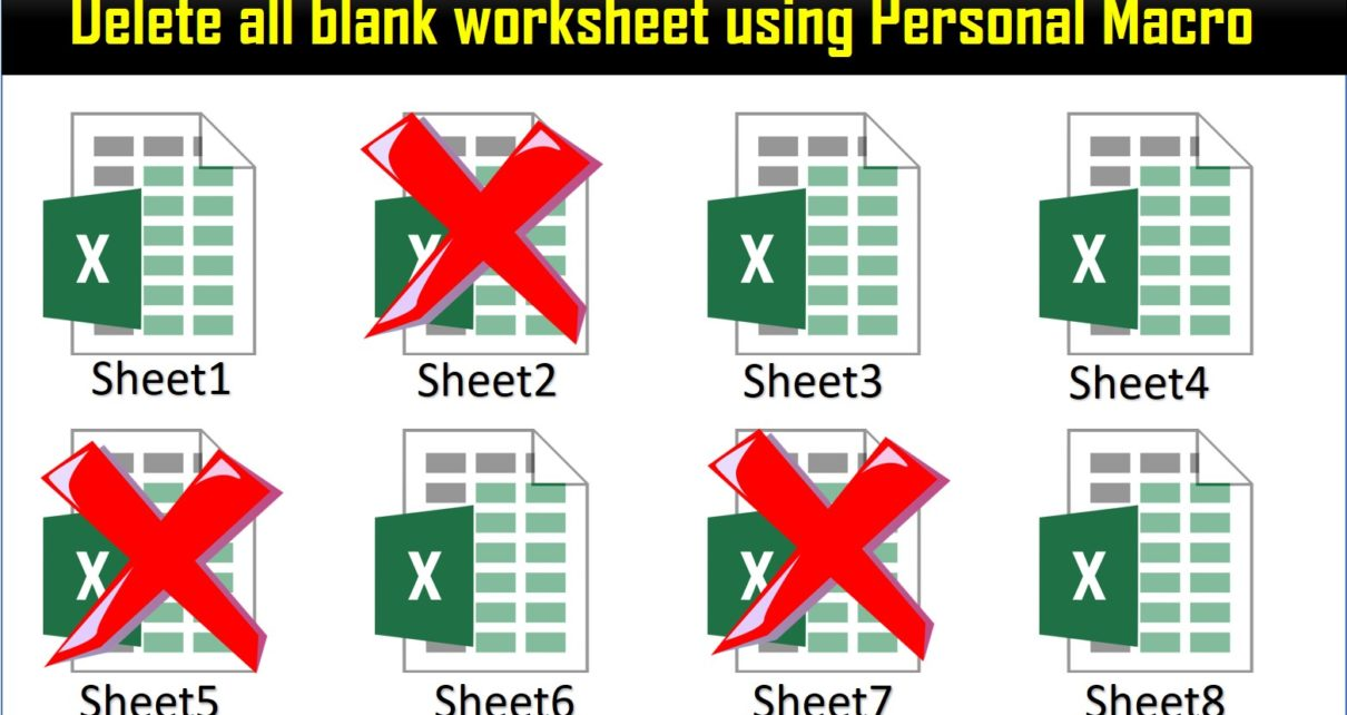Delete all worksheet