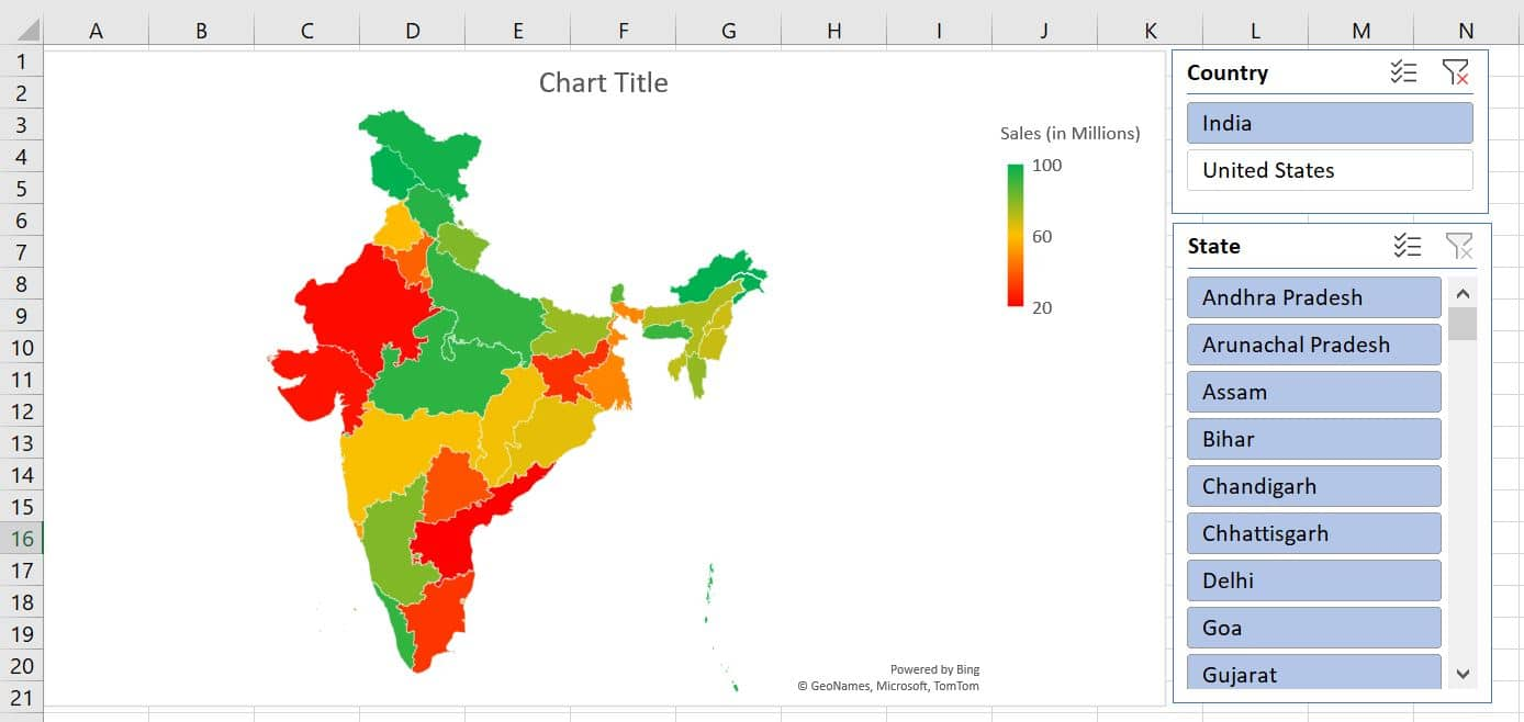 India's Map