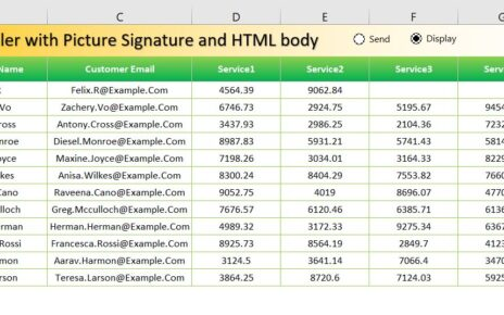Email with Signature-