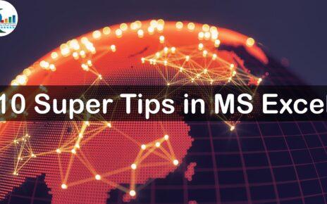 10 Super Tips in Excel