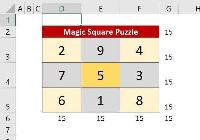 Magic Squire Puzzle Solver