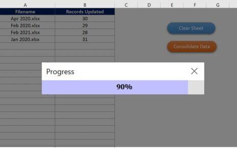 Progress Bar in VBA