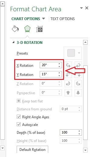 3-D Rotation option