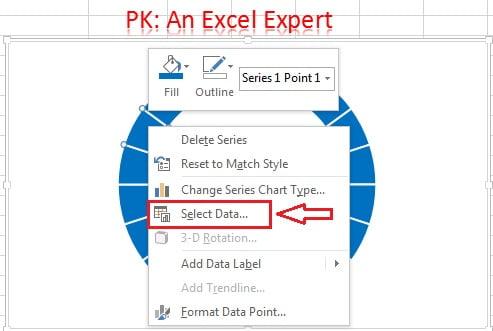 Select Data Option