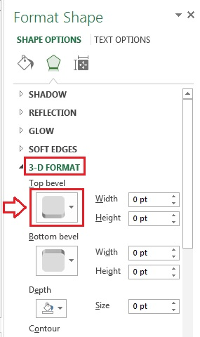 3-D Format Option