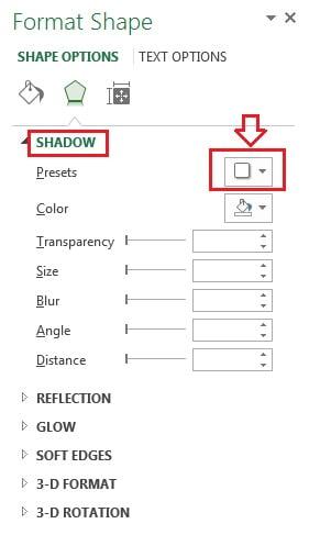 Shadow option