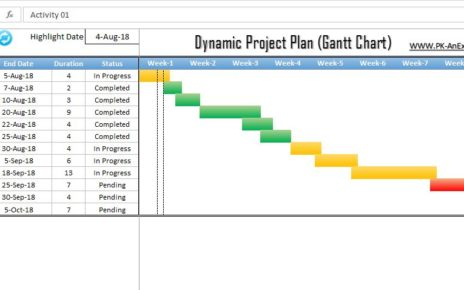 Dynamic Project Plan