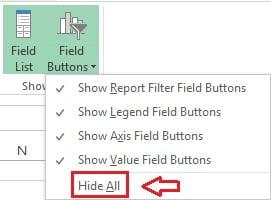 Hide All option