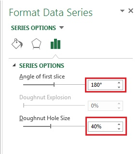 Format Data Series window