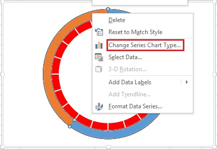Change Series Chart Type option