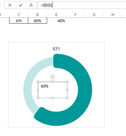 Link text box with excel cell
