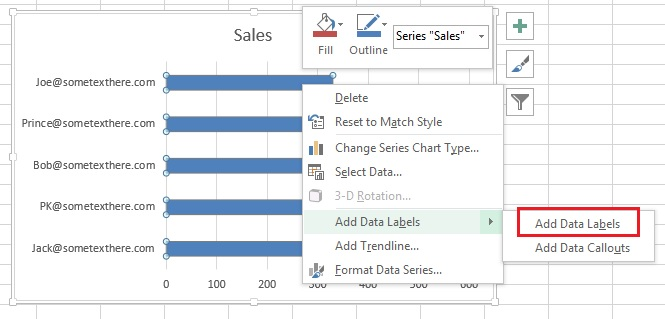 Add Data Labels