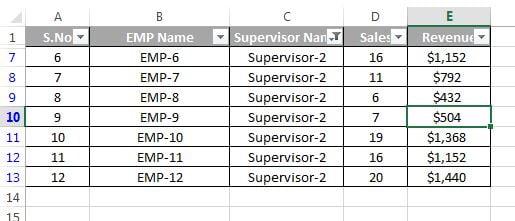 Filtered Supervisor-2
