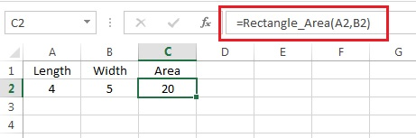 Access the Function from Worksheet